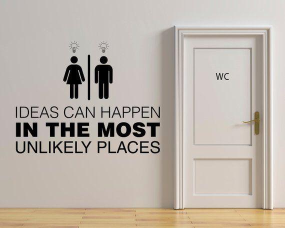 Toilet Sign Toilet Door Sign Office Decals Office Sign Wall Decals Bathroom Sign Restroom Sign Wc Sign School Toilet Sign Decals Toilet Sign Toilet Door Office Door Signs