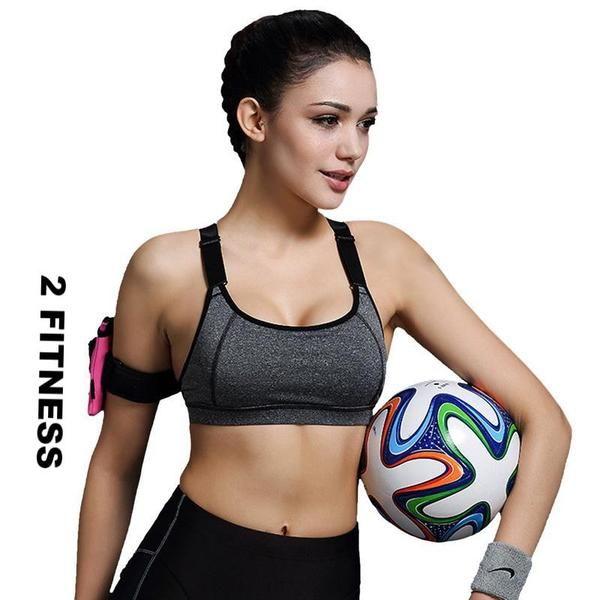 Sports Bra Women Fitness Yoga Padded Push Up Breathable