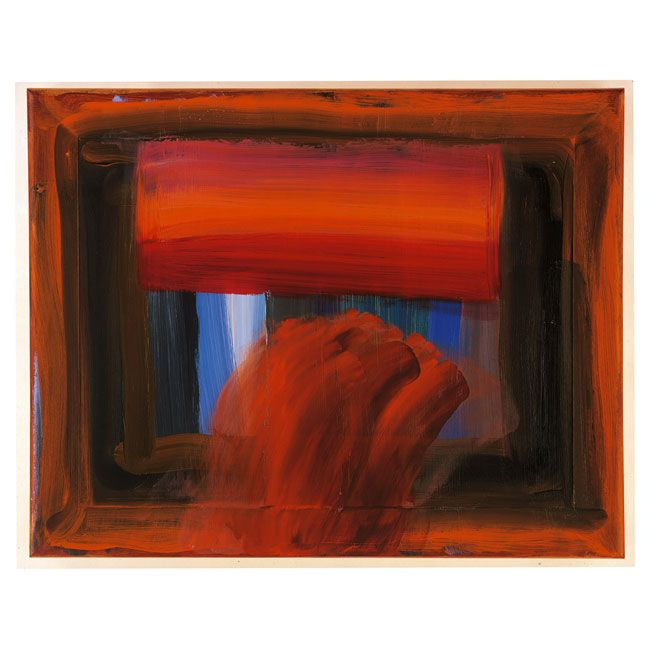 "Howard Hodgkin, ""In Paris With You"""