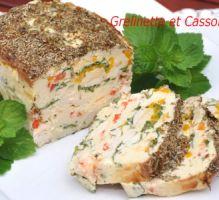 Recette - Terrine de poulet aux poivrons - Proposée par 750 grammes