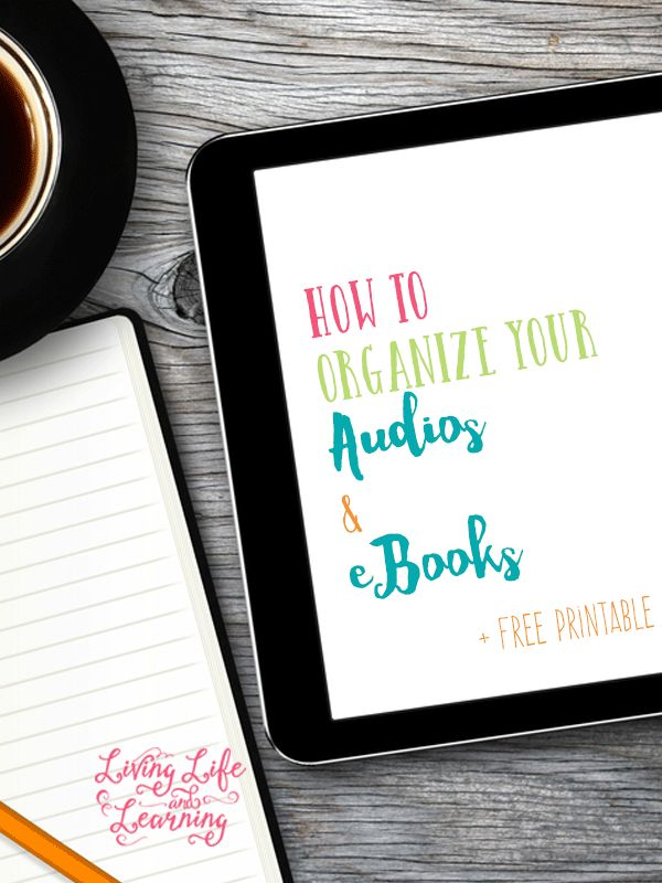 Get your tips on how to organize your audios and ebook files