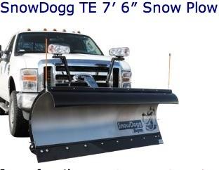 SnowDogg TE Snow Plow