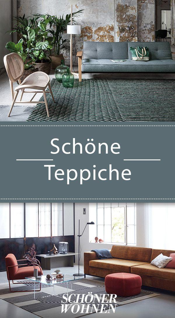 Aktuelle Teppiche Aus Wolle Seide Und Mischgewebe Haus Innenarchitektur Schoner Wohnen Teppich