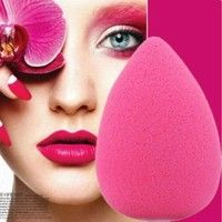 Feature: Brand new and high quality! Very cute teardrop sponge Used to apply any type of makeup Size