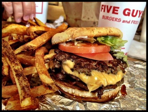 Top 5 Savings Ideas: Five Guys Burgers and Fries