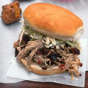 North Caroline-Style Pulled Pork with Lexington-Style Vinegar Sauce From Better Homes and Gardens, ideas and improvement projects for your home and garden plus recipes and entertaining ideas.