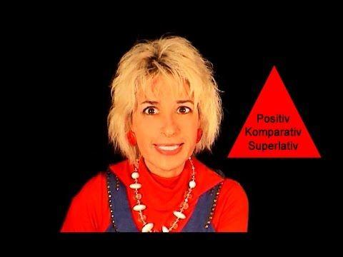"""Deutsche Grammatik: """"Positiv, Komparativ, Superlativ """" (mit Sonja Hubmann) - YouTube"""