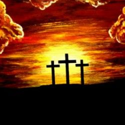 CROSS Painted by Teo Alfonso
