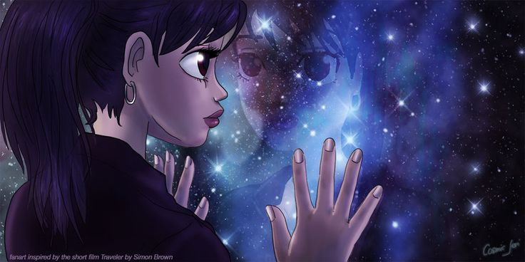 illustration Fanart of Traveler by Simon Brown - Michelle  by cosmicjeri on DeviantArt
