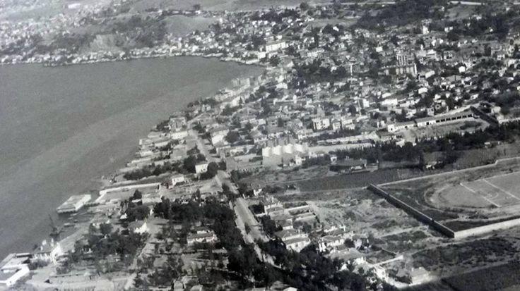 Göztepe ve Göztepe Futbol Sahası, 1950'li yıllar.