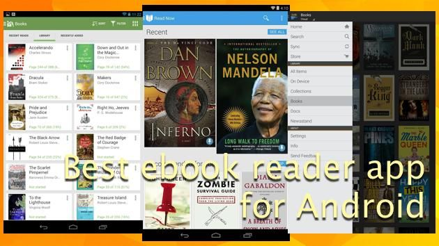 Download the following Best eBook reader Android Apps to read ePub and PDF books. A list of the Top Free ePub reader Android Apps.