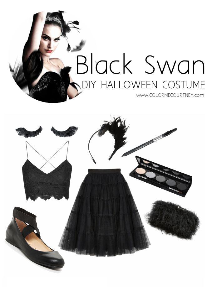 BLACK SWAN DIY HALLOWEEN COSTUME DIY BLACK SWAN COSTUME DIY HALLOWEEN COSTUME DO IT YOURSELF HALLOWEEN COSTUME DIY HALLOWEEN COSTUME IDEAS