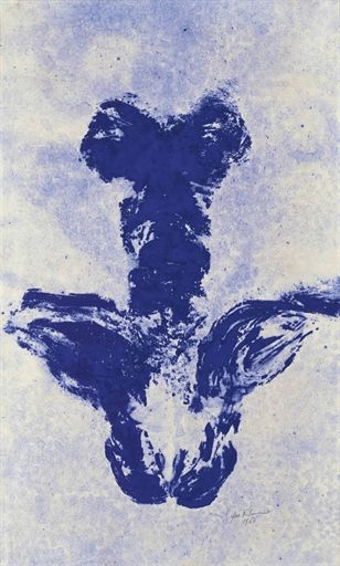 Yves Klein, Anthropométrie (ANT 49),   Executed in 1960
