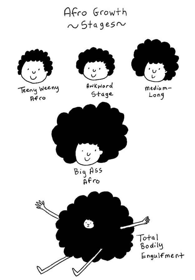 That the hair will someday take over. | 29 Secret Anxieties Of Girls With Natural Hair