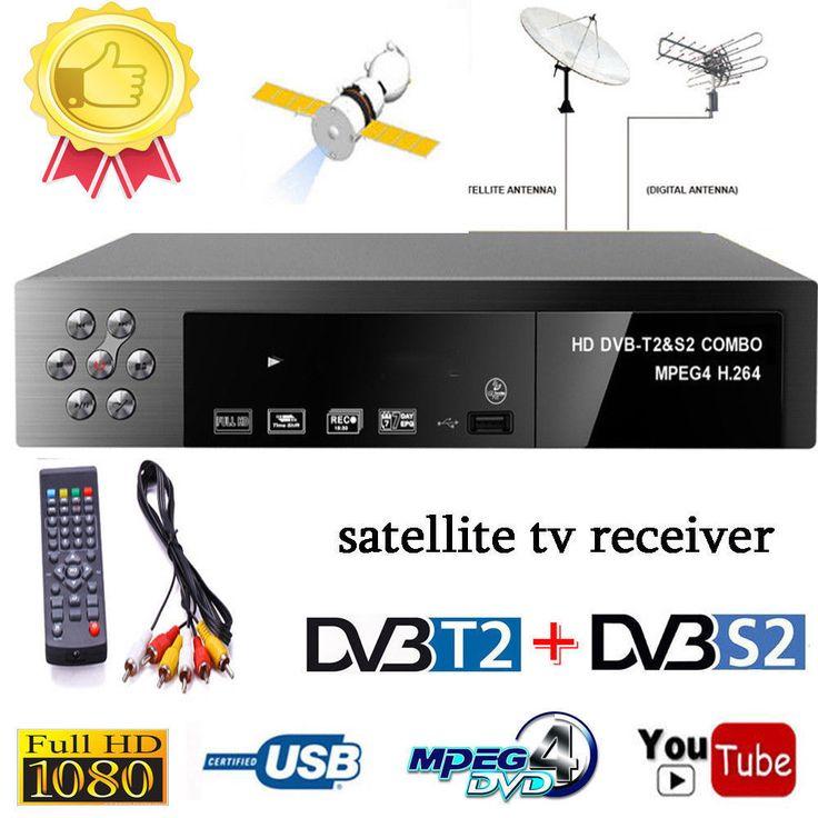 Inteligente Televisión digital por satélite receptor DVB