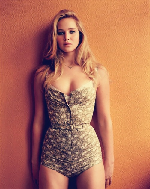 PHOTOS: Jennifer Lawrence Strips Down For GQ