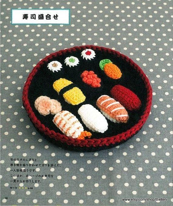 36 best diy crafts japanese ebook pattern images on pinterest amigurumi food toys pattern ami16 amigurumi japanese ebook crochet food toys pattern restaurant food toys crochet play food pdf forumfinder Images