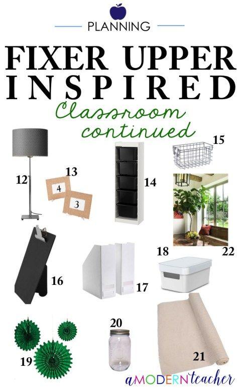 Classroom Planning: Fixer Upper Inspired Design! - A Modern Teacher
