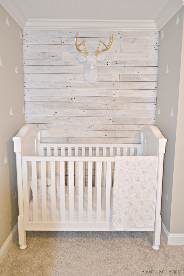 White Faux Taxidermy Review & Discount Code via Fawn Over Baby!  #nursery #nurserydecor #rusticdecor #discountcode #decordiscount