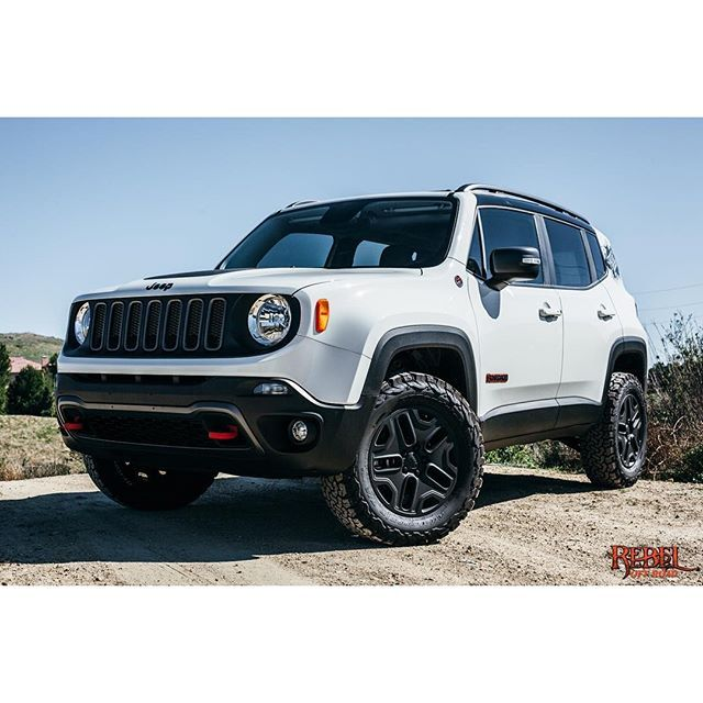 Jeep Renegade Lifted >> 2015 @jeepofficial Renegade Trailhawk @daystarproducts 1.5 Inch lift kit @bfgoodrichtires K0 AT ...