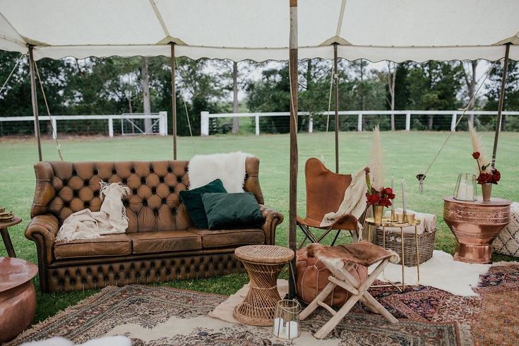 Image 16 - This Bride's got STYLE – Boho Hunter Valley Wedding in Real Weddings.
