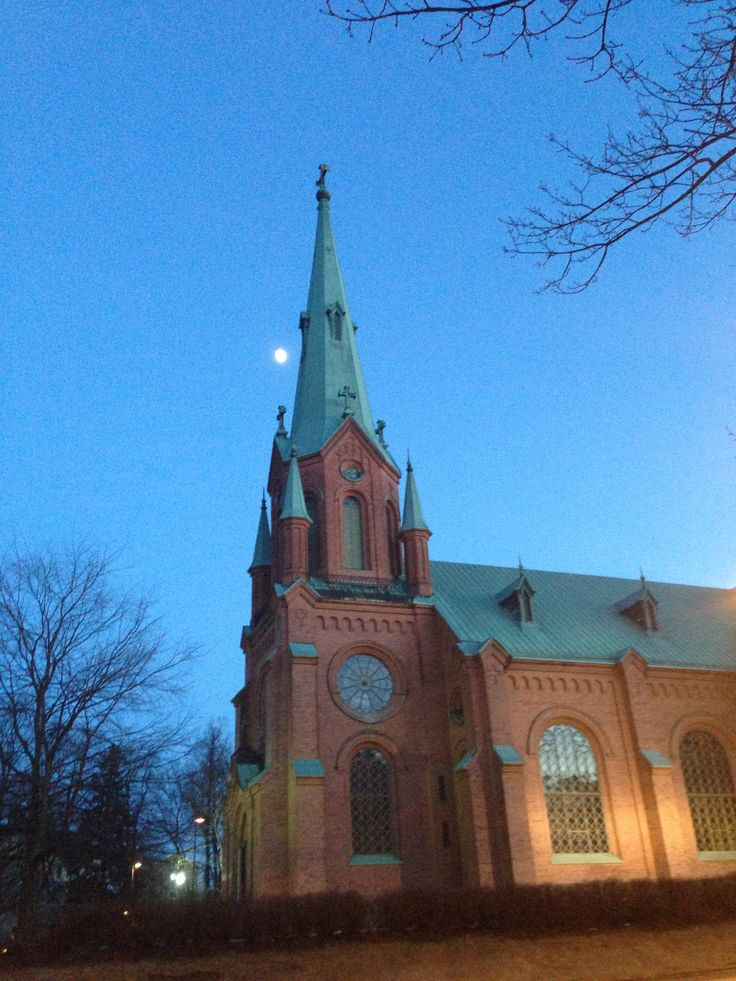 Church in Tampere.  #Finland #Church