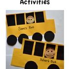 Included are ideas for using a school bus in a safety unit, and patterns for a school bus art project.  This activity teaches shape vocabulary, col...