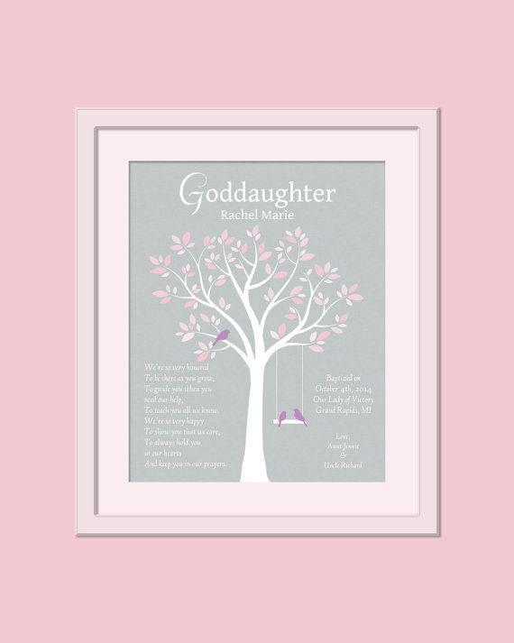 Gift For Goddaughter  Goddaughter Gift  by GoldHousePrints on Etsy