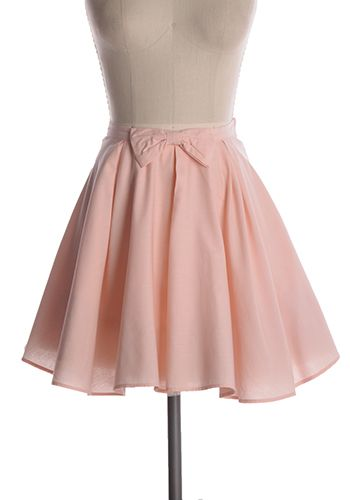 Absolutely delicious soft pink skirt with bow detail. Lining has tutu fabric on hemline. 100% polyester Not stretchy Lined Fits slightly large at waist Indie, Retro, Party, Vintage, Plus Size, Convertible, Cocktail Dresses in Canada Strawberry Milkshake Skirt -