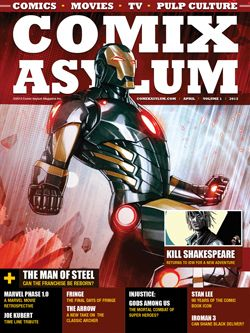 Comix Asylum Issue 1