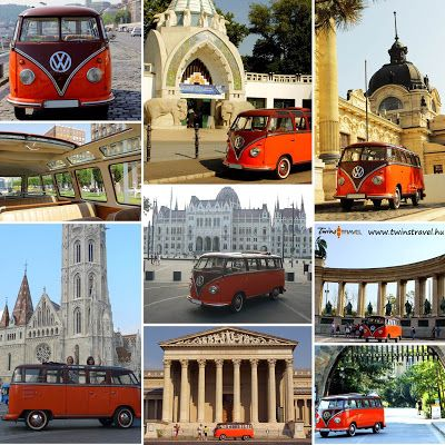 Retrobus! #twinstravel_budapest #retrobus #bus #budapest #enjox #sightseeing