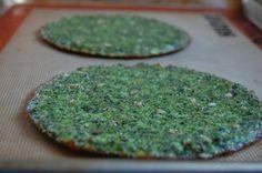 Baked Broccoli Pizza Crust