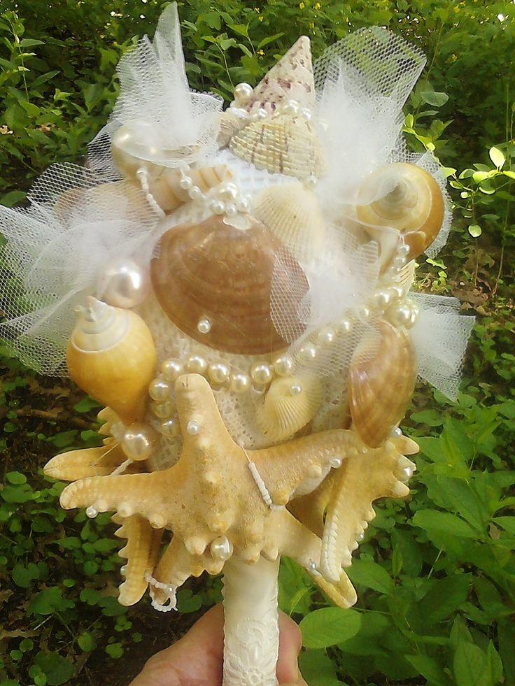 mirelamohjazi.breslo.ro)Bridal bouquet, wedding at sea