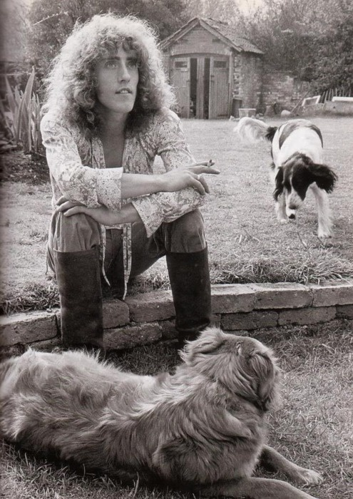 Roger Daltrey. AND HIS DOGS ROCK STARS AND THEIR PETS                                                                                                                                                      Más