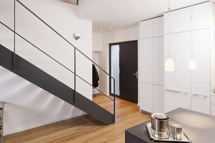Stahltreppe 5 - Treppenbau Voss