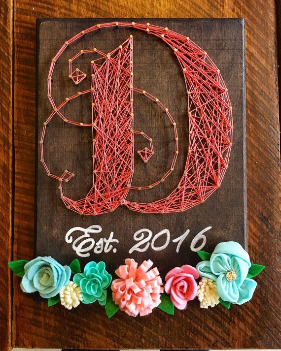 Hey, I found this really awesome Etsy listing at https://www.etsy.com/listing/280237388/custom-monogram-string-art-with-floral