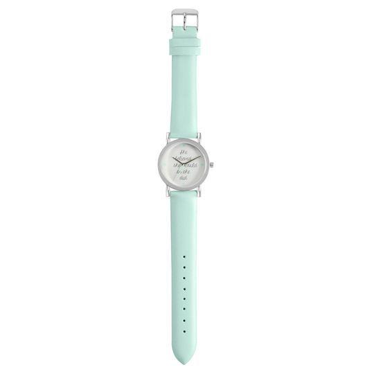 Silver & Mint Watch By Bead Landing™