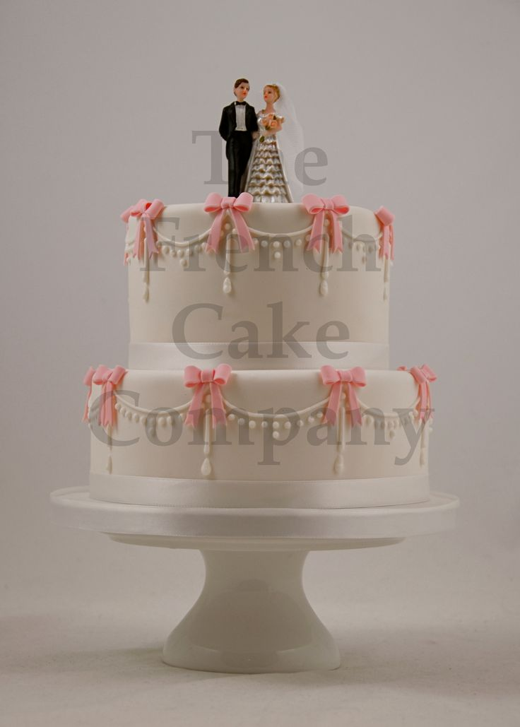 Wedding Cake Noeud Papillons