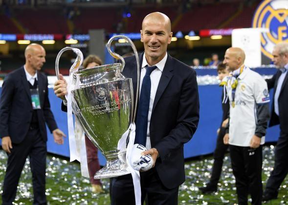 #rumors  Zinedine Zidane has been 'nearly perfect' former Real Madrid president Ramon Calderon tells talkSPORT