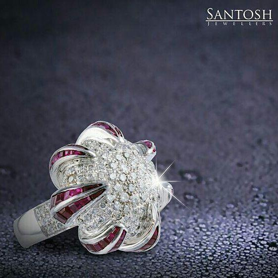 https://www.etsy.com/listing/275994768/3x3-unique-ruby-and-diamond-unique-18k Santosh Jewellers.
