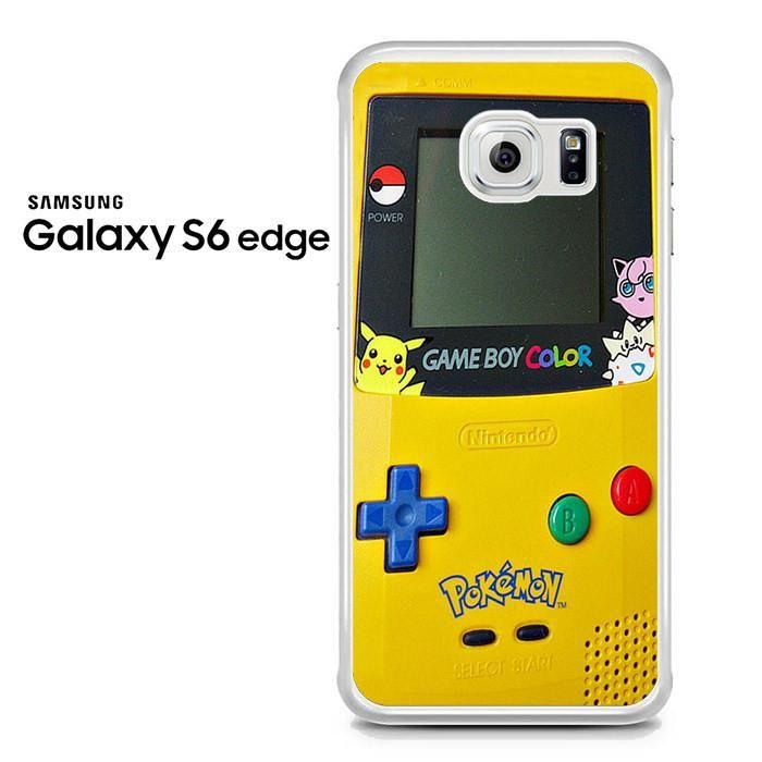 Gameboy Color Pokemon Samsung Galaxy S6 Edge Case