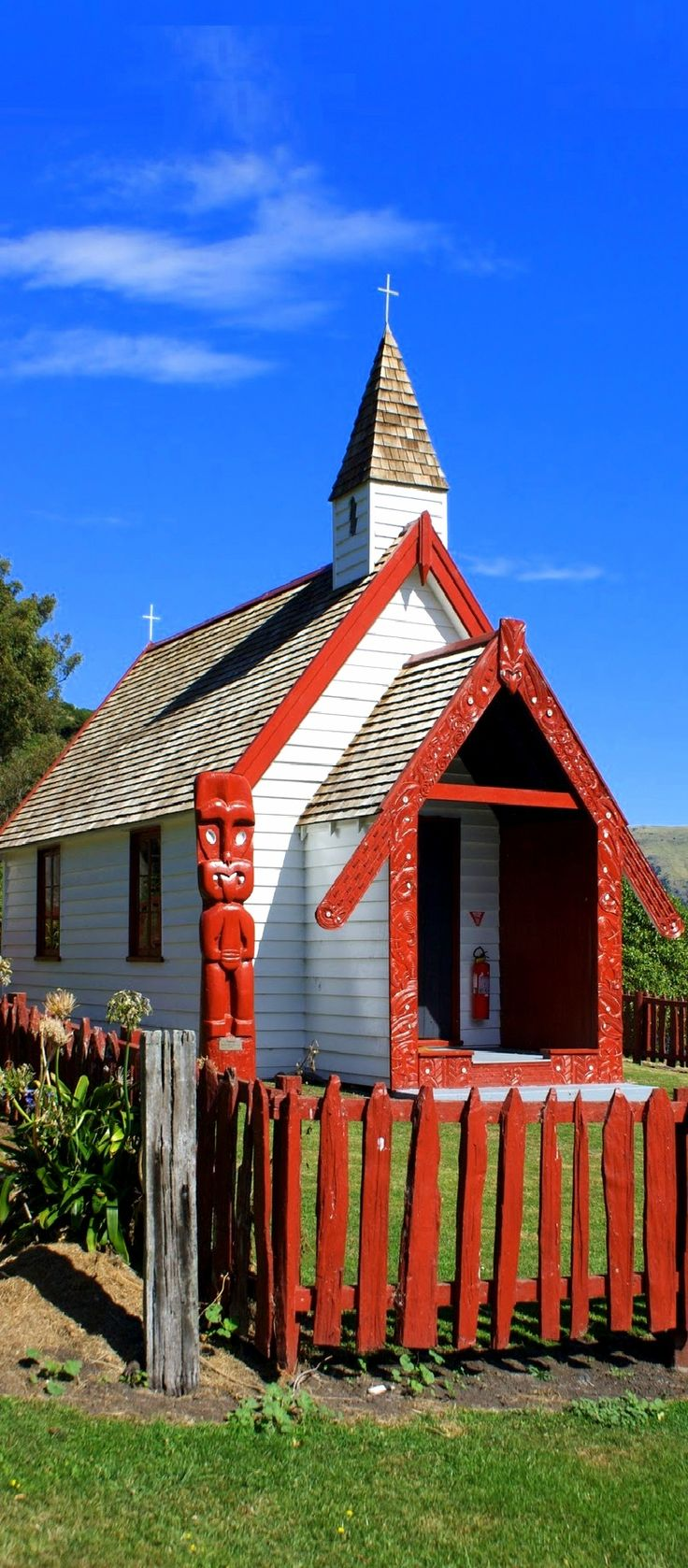Onuku Church, The Kaik, Akaroa, NZ