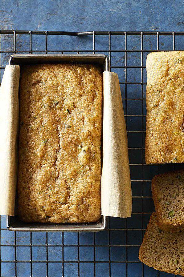 Almond Flour Zucchini Bread Recipe In 2020 Healthy Baking Recipes Healthy Baking Zucchini Bread Healthy