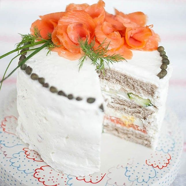 11 Sandwich Cakes That Will Be the Talk of ALL Your Parties via Brit + Co