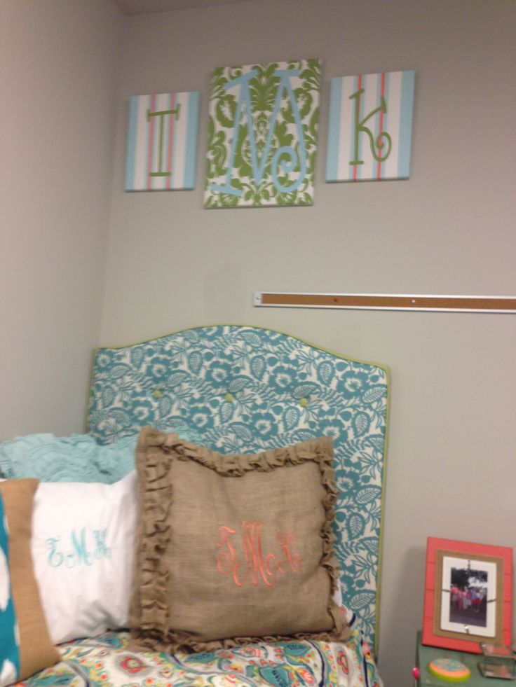 Dorm Room Headboards: 17 Best Images About College Dorm Ideas On Pinterest
