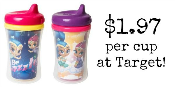 Target: Nuk Sippy Cups Only $1.97 Each!