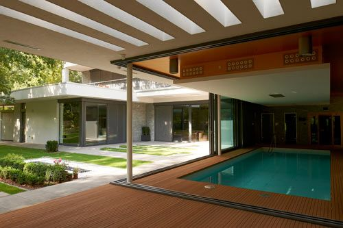Indoor pool villa  Indoor Pool Envy: Villa F by DÉR Architects | Indoor pools, Indoor ...