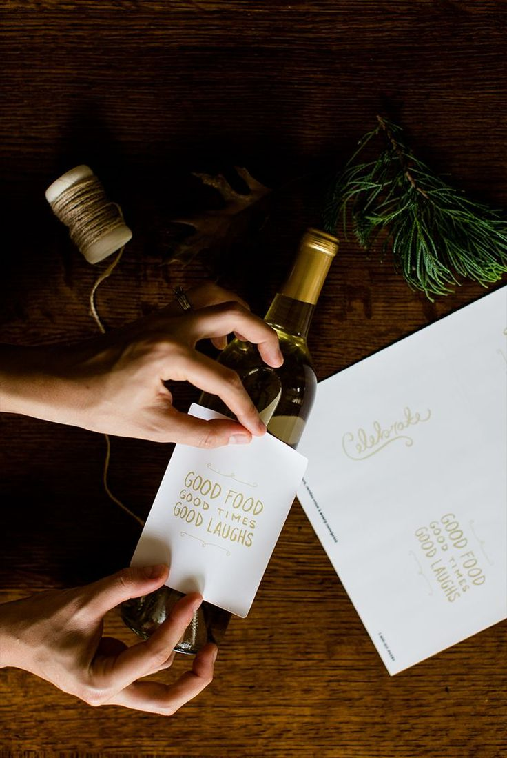 Make Your Own Custom Wine Labels for Free