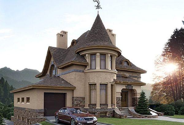 Vilă tip conac cu o arhitectură superbă şi un interior ce merită văzut