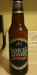 Sam Adam Boston Lager. Their flagship beer. I used to hate it, but it's really not bad. Good fall back beer.